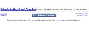 Friends to Gmail