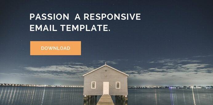 Template de email responsivo em HTML