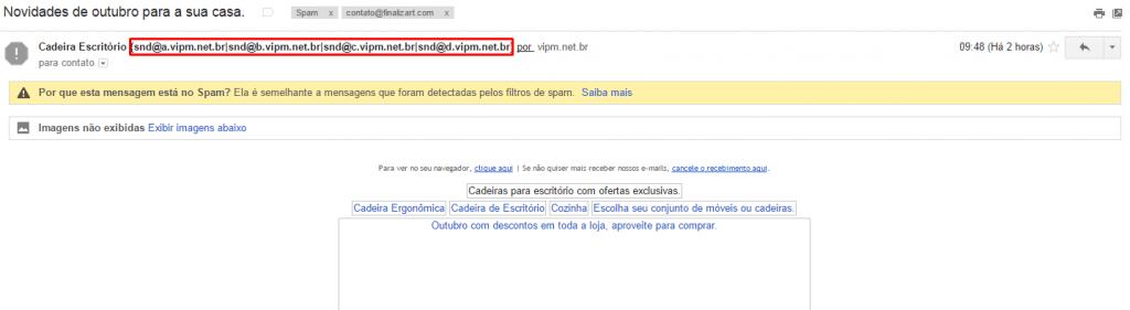Remetente Errado - Extrator de Emails Online