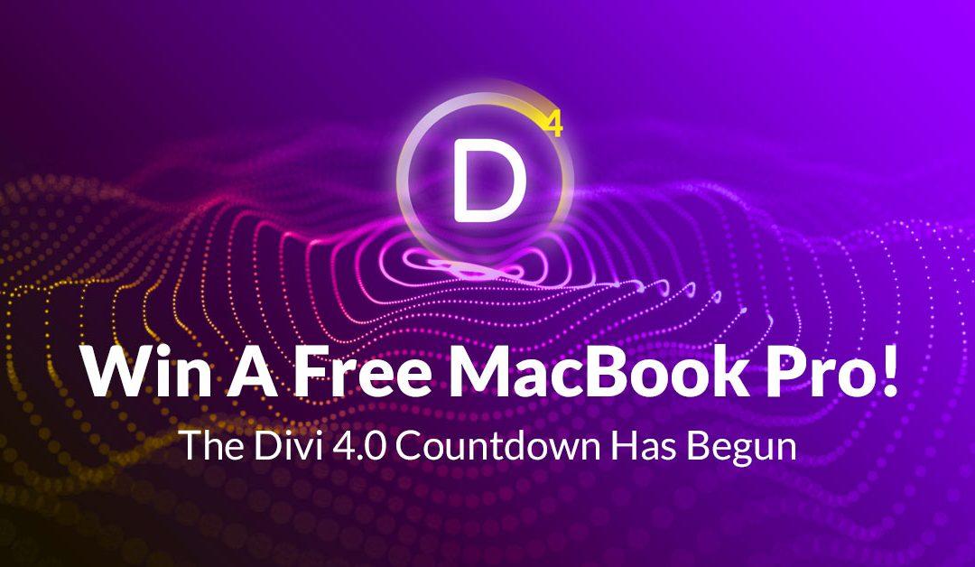Contagem regressiva para lançamento do Divi 4.0
