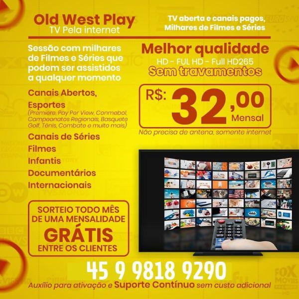 OldWestTV - Extrator de Emails Online